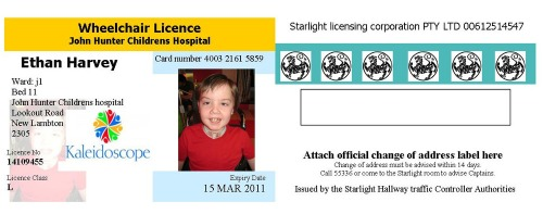 Rta Test P2 >> February   2011   Blog of Starlight Children's Foundation