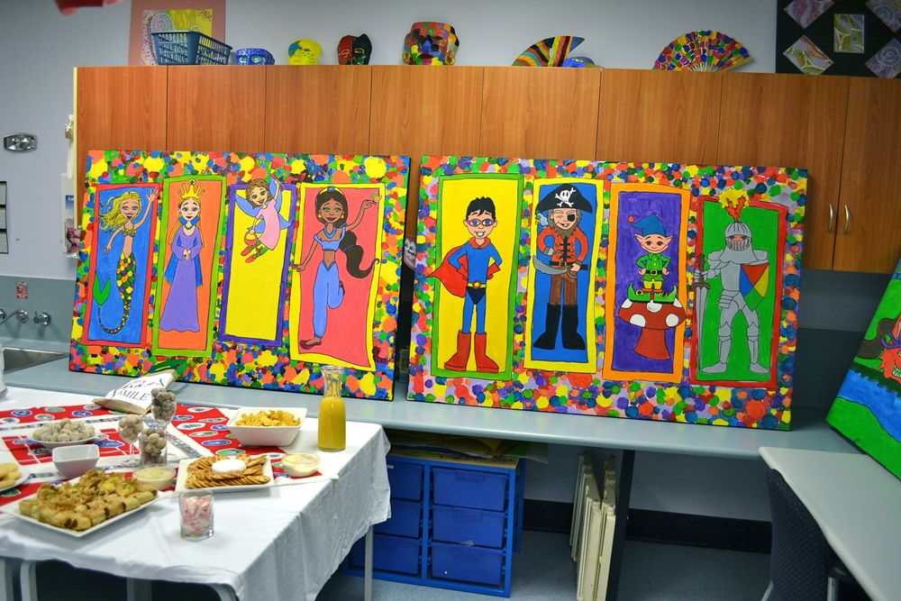 A magical art project with the hospital school blog of for Arts and crafts classes nyc