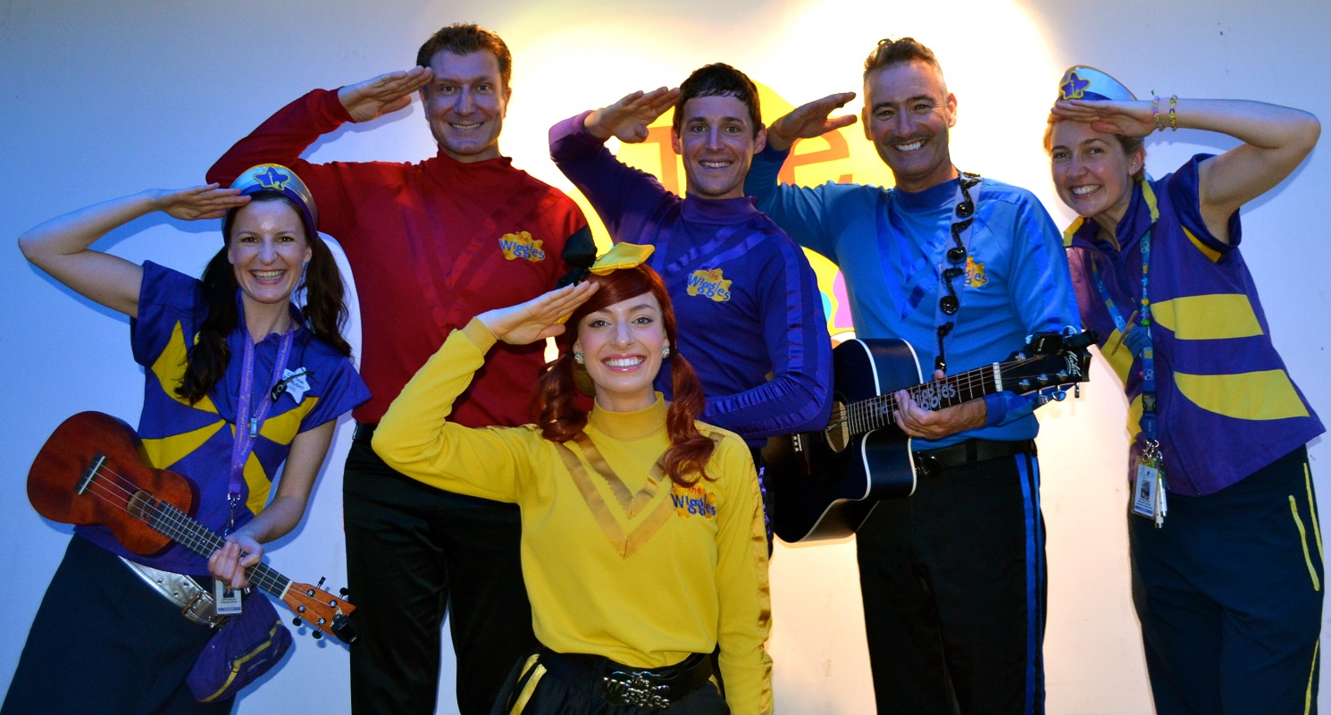 The wiggles emma lachy simon anthony